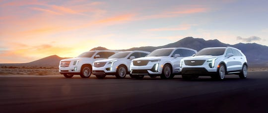 Cadillac's new lineup of SUVs featured in a series of TV spots to air during the Oscars on Feb. 24, 2019.