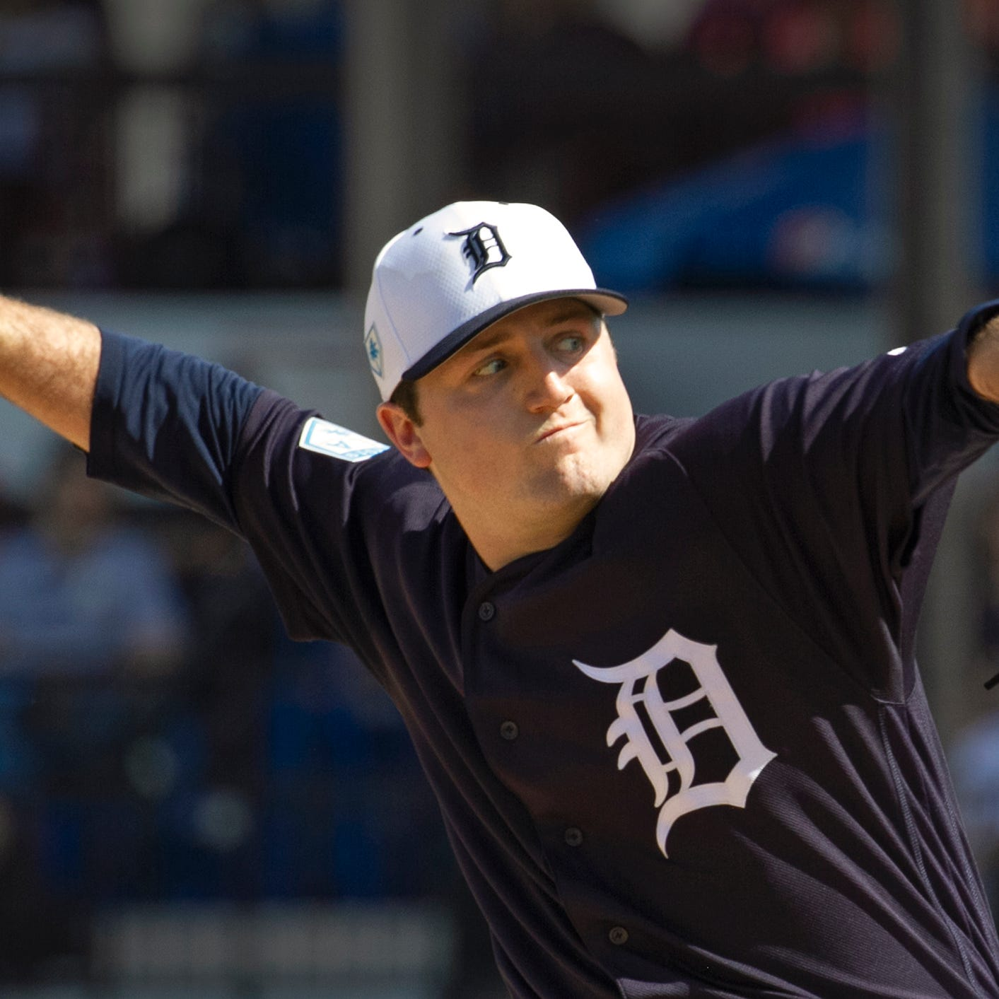 Detroit Tigers top prospect Casey Mize analyzes his spring debut