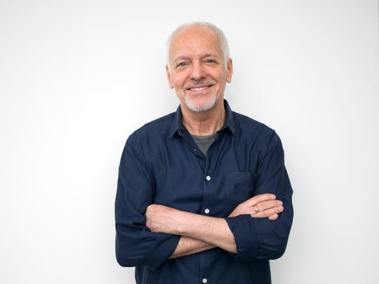 English-born musician Peter Frampton poses for a portrait in New York in 2016.