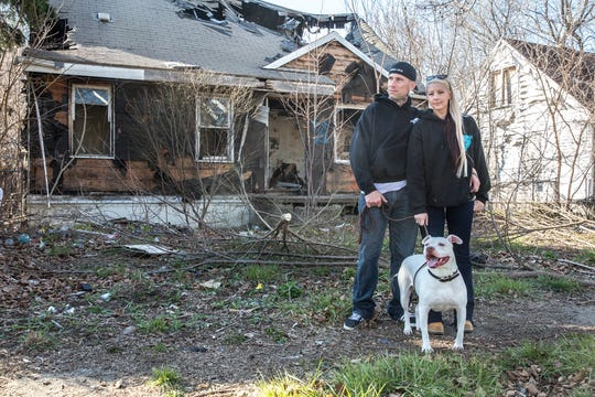 David McMurtrie and Kayli Sparks rescue dogs in bad situations from abandoned buildings to life on a chain.