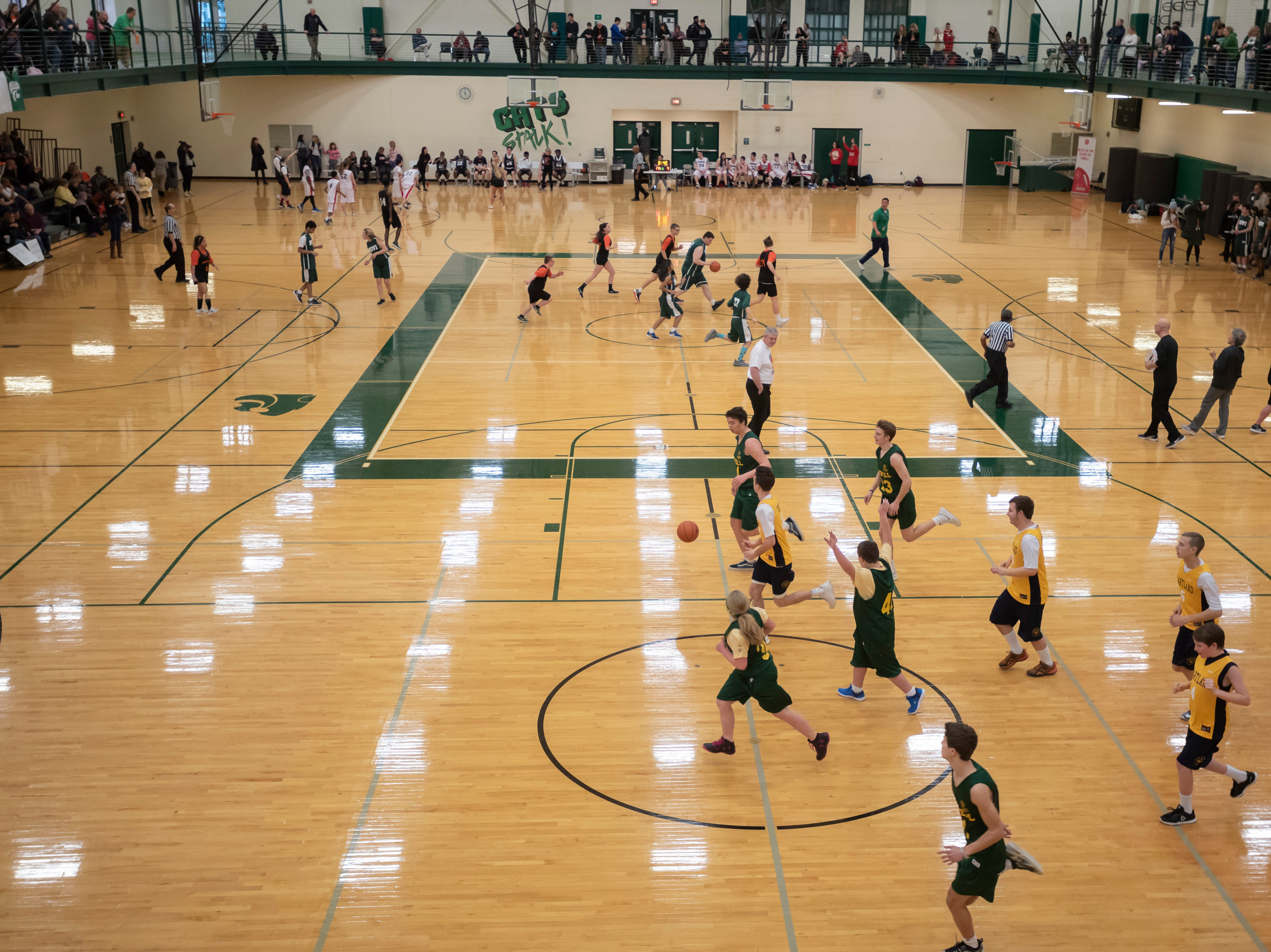 Multiple games take place during the tournament.