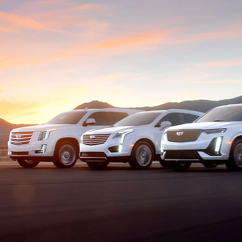"""Cadillac will debut its """"Rise"""" campaign at the..."""