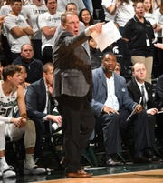 Tom Izzo has his team right where he often likes it, tenacious on defense led by guard Cassius Winston.