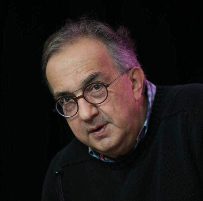 Fiat Chrysler's Marchionne paid $7.8M, Manley paid $708K in 2018