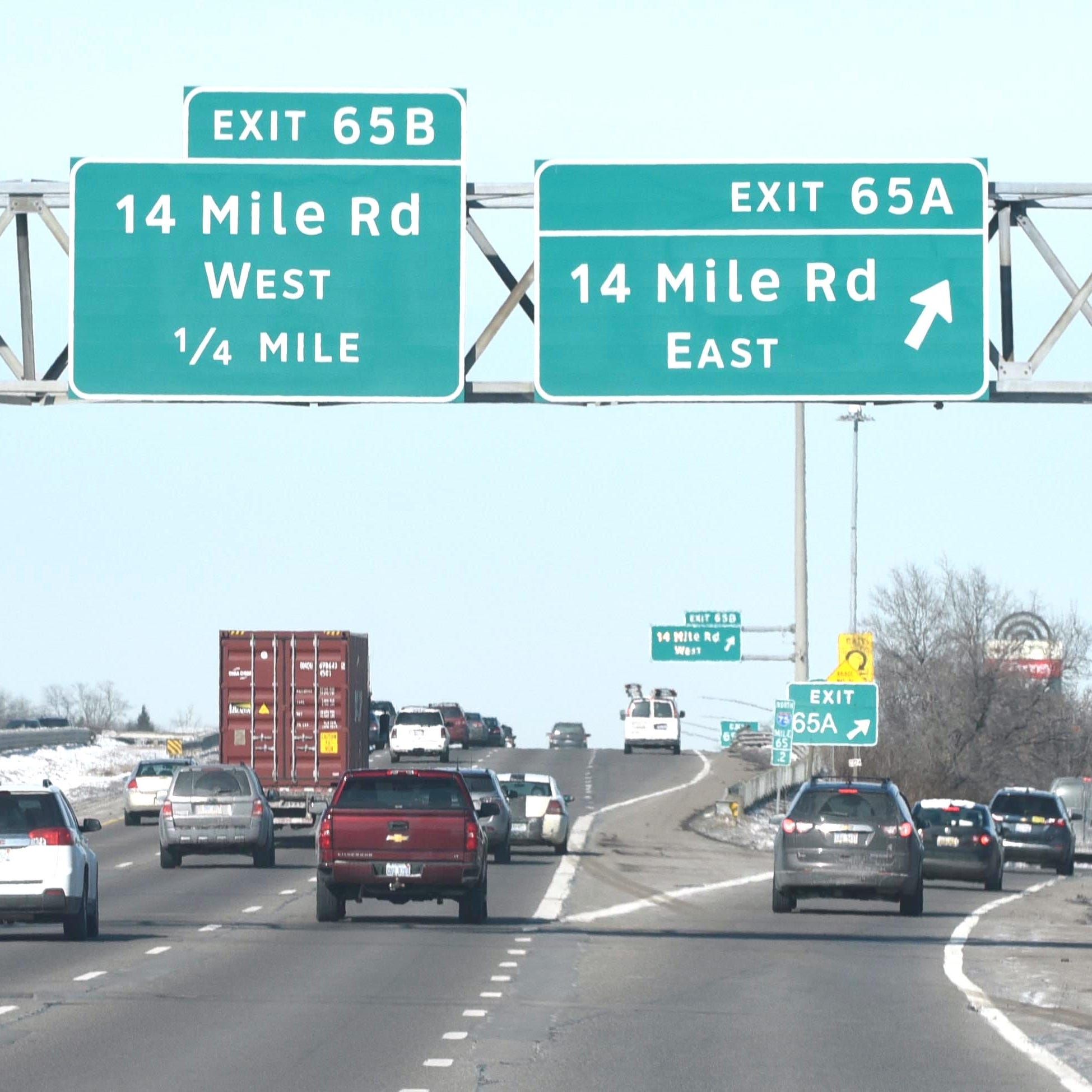 I-75 reconstruction in Oakland County delayed to Friday