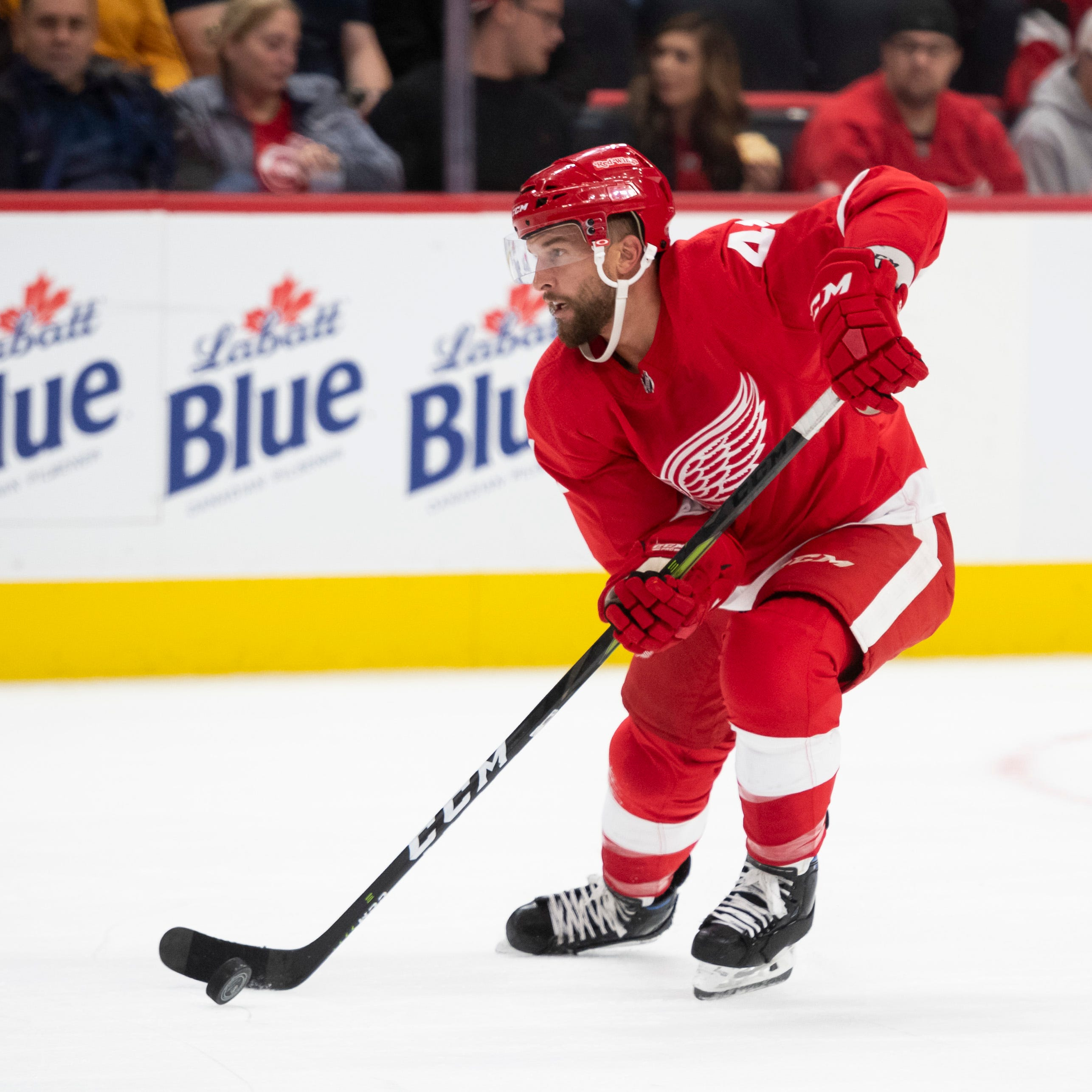 'Winning player' Luke Glendening stays positive as losses, rumors mount
