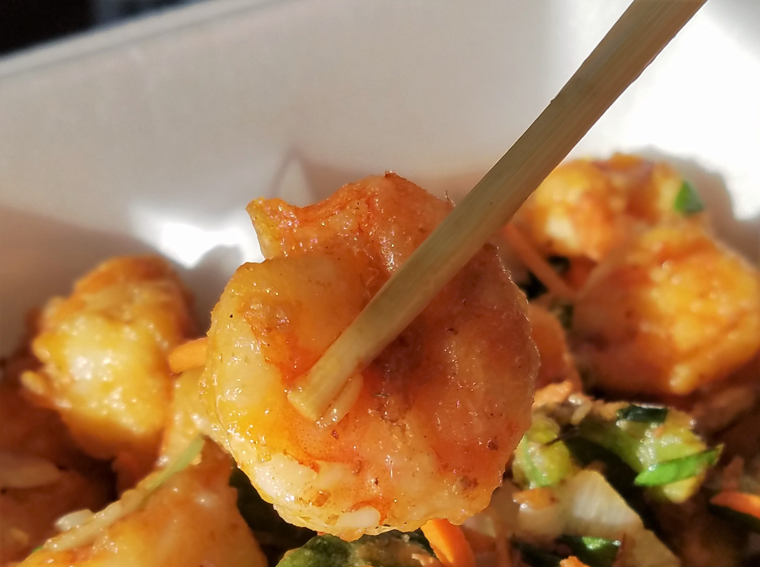 Flavorful salt and pepper shrimp from Yum Yum Chinese Restaurant in Henderson.