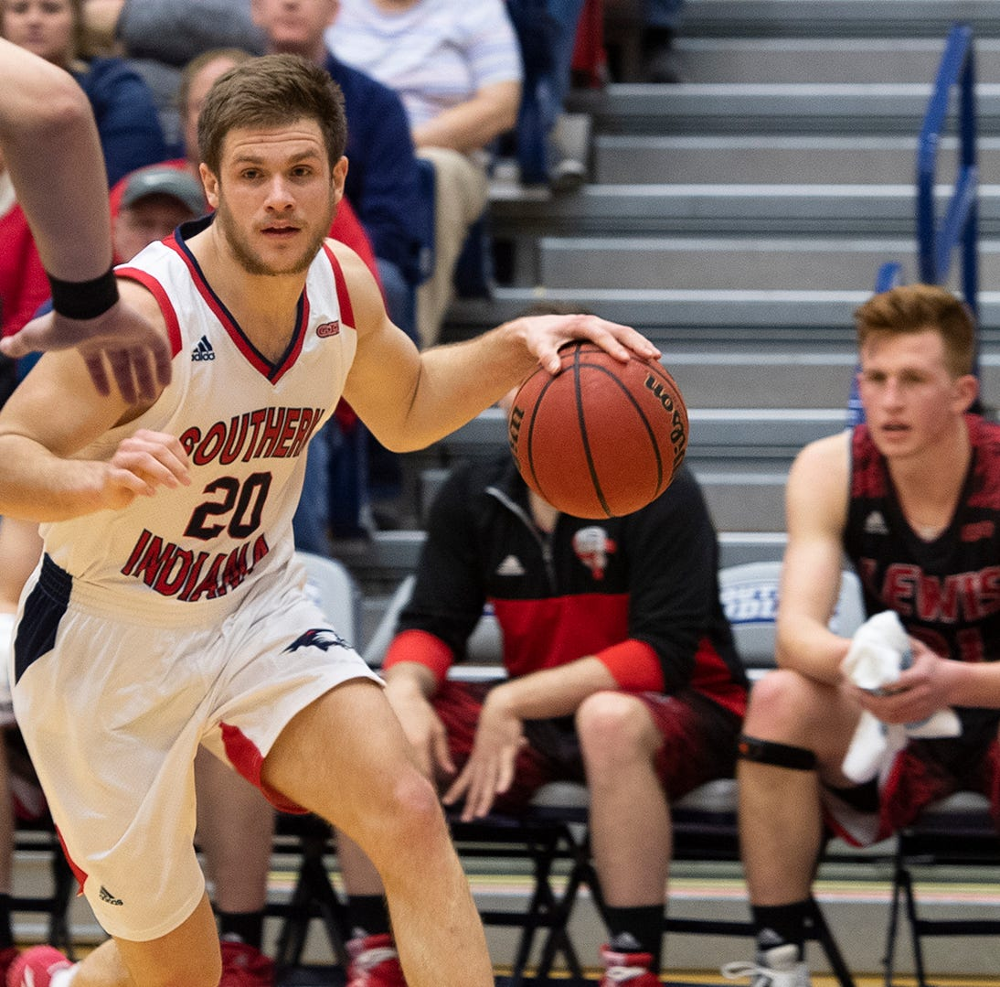 Alex Stein surpasses 2,000 career points in USI's loss to Lewis