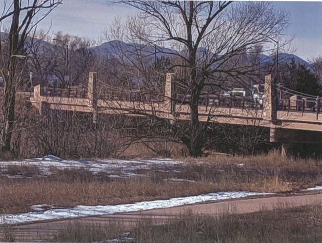 A billboard near the Poudre River in the Williams Natural Area was removed in December.