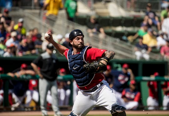 Blake Swihart was scratched from Wednesday's spring training game.