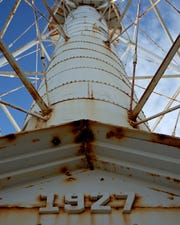 Gasparilla Island's lighthouse as it appeared before its restoration