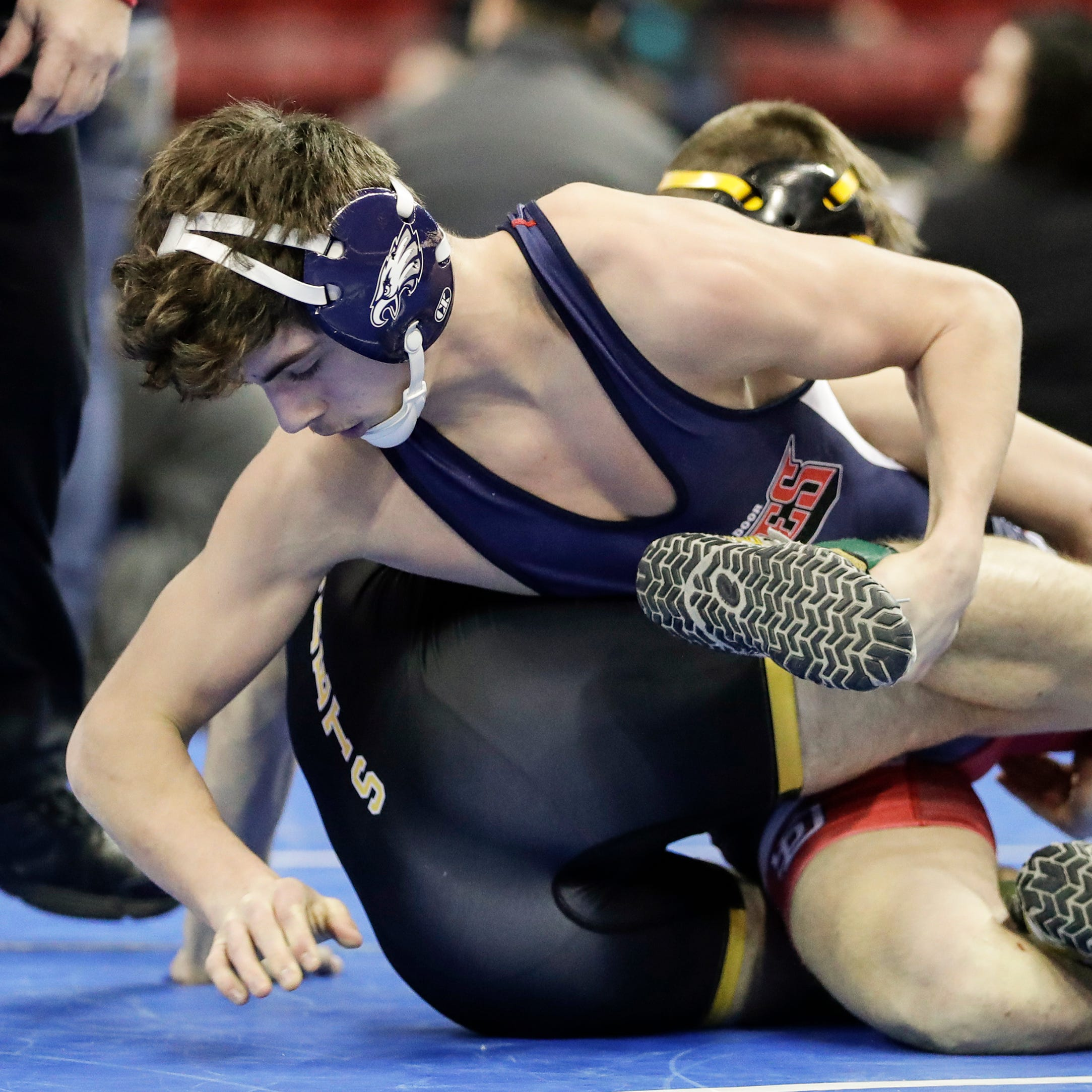 WIAA state wrestling: Southern Door's Grant Englebert hopes to make friend proud