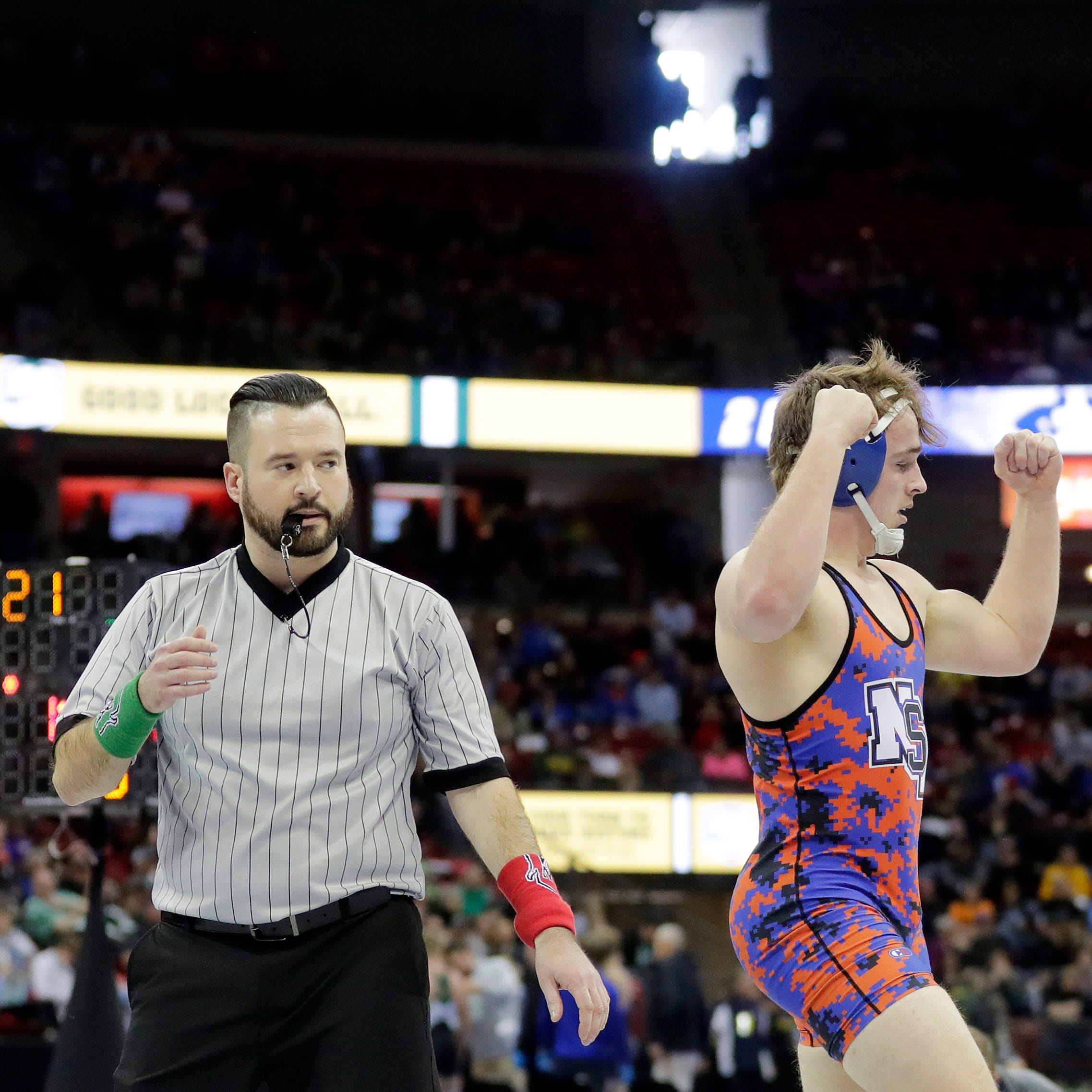 North Fond du Lac/St. Mary's Springs' Orlandoni gets revenge on undefeated foe, reaches semis