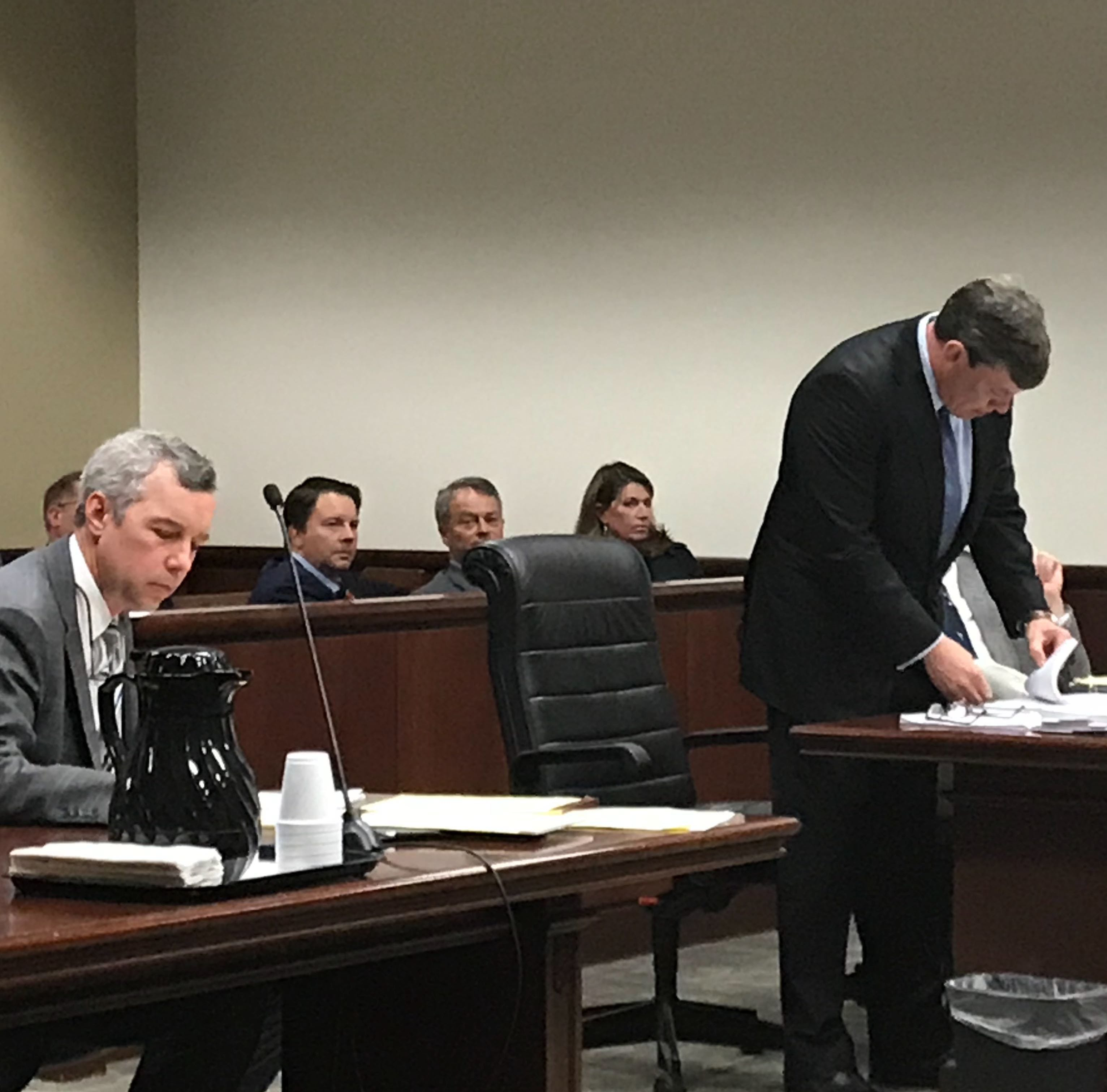 Lawyer wants to know if Greenville real estate developer researched date rape drugs