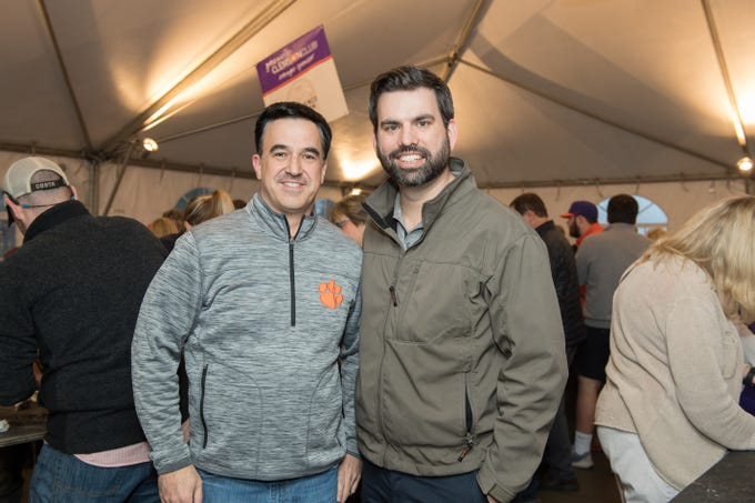 The annual Greenville Clemson Club Oyster Roast was a night to remember. The event was held at Brewery 85 and all proceeds from the event benefited the GCC scholarship fund, local charities, Clemson University and the CJ Spiller Foundation. Guests enjoyed live music, oysters, and guest speaker Monte Lee.