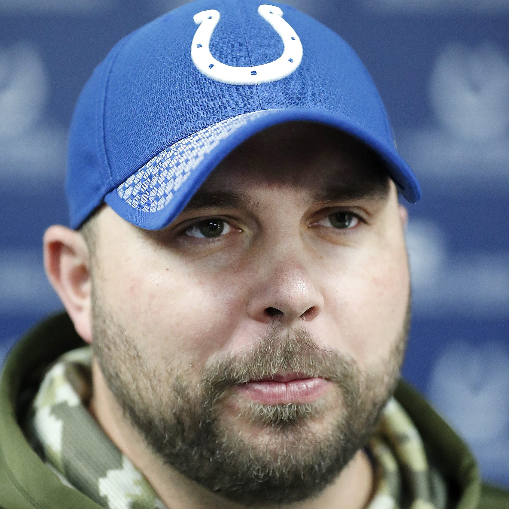 Klayton Adams owes coaching career to new Colts' offensive line coach Chris Strausser