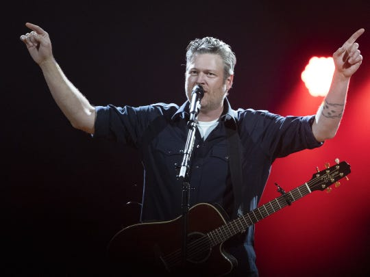 Blake Shelton will perform at 7 p.m. Saturday at The Ford Center.