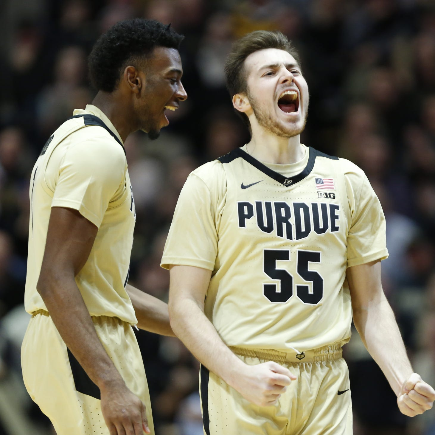 Purdue basketball freshmen continuing their defensive education