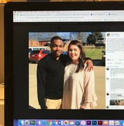 This photo of a Facebook shows Heather Boyer's daughter and her daughter's boyfriend.