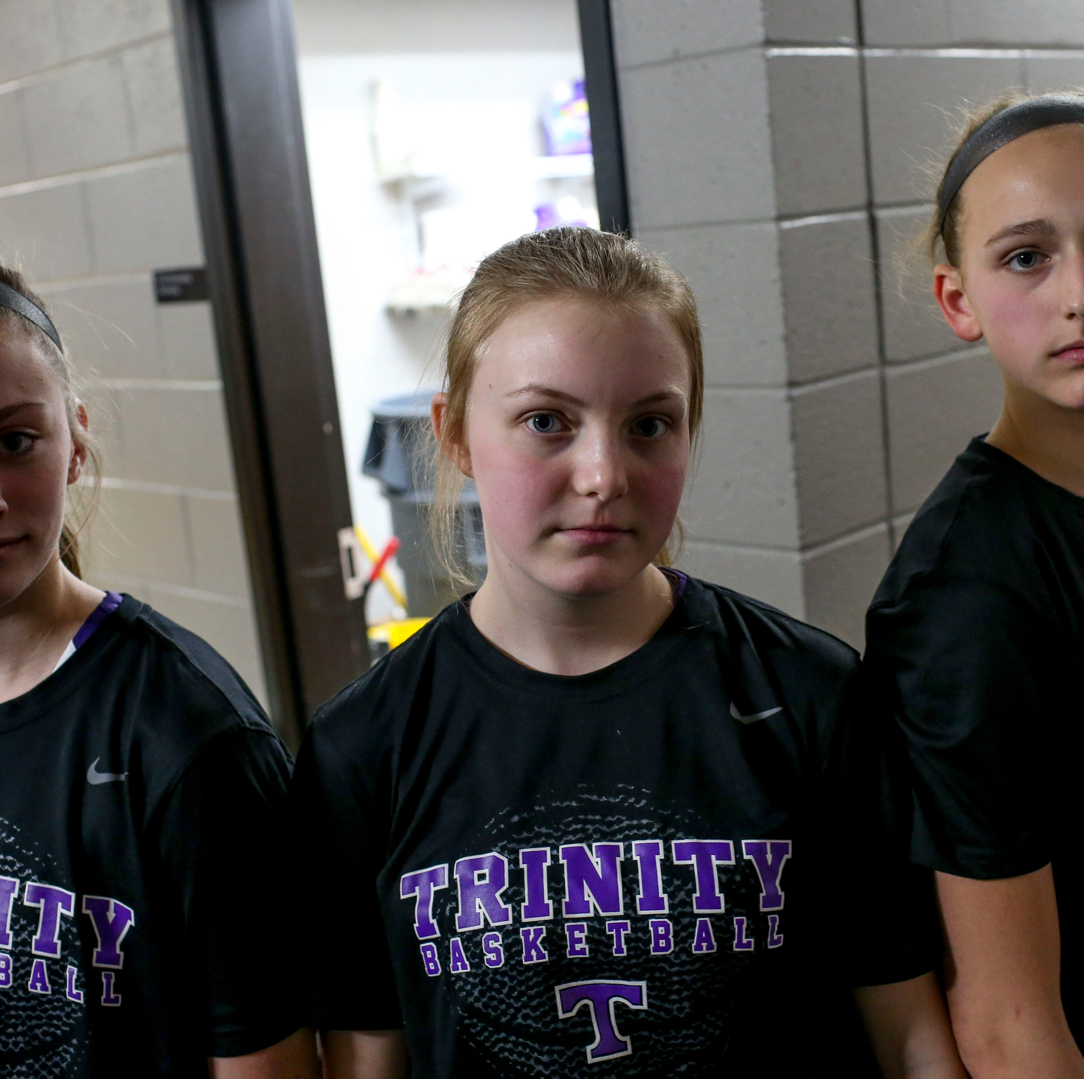 TCA girls basketball eighth-graders relish the opportunity to play at the varsity level