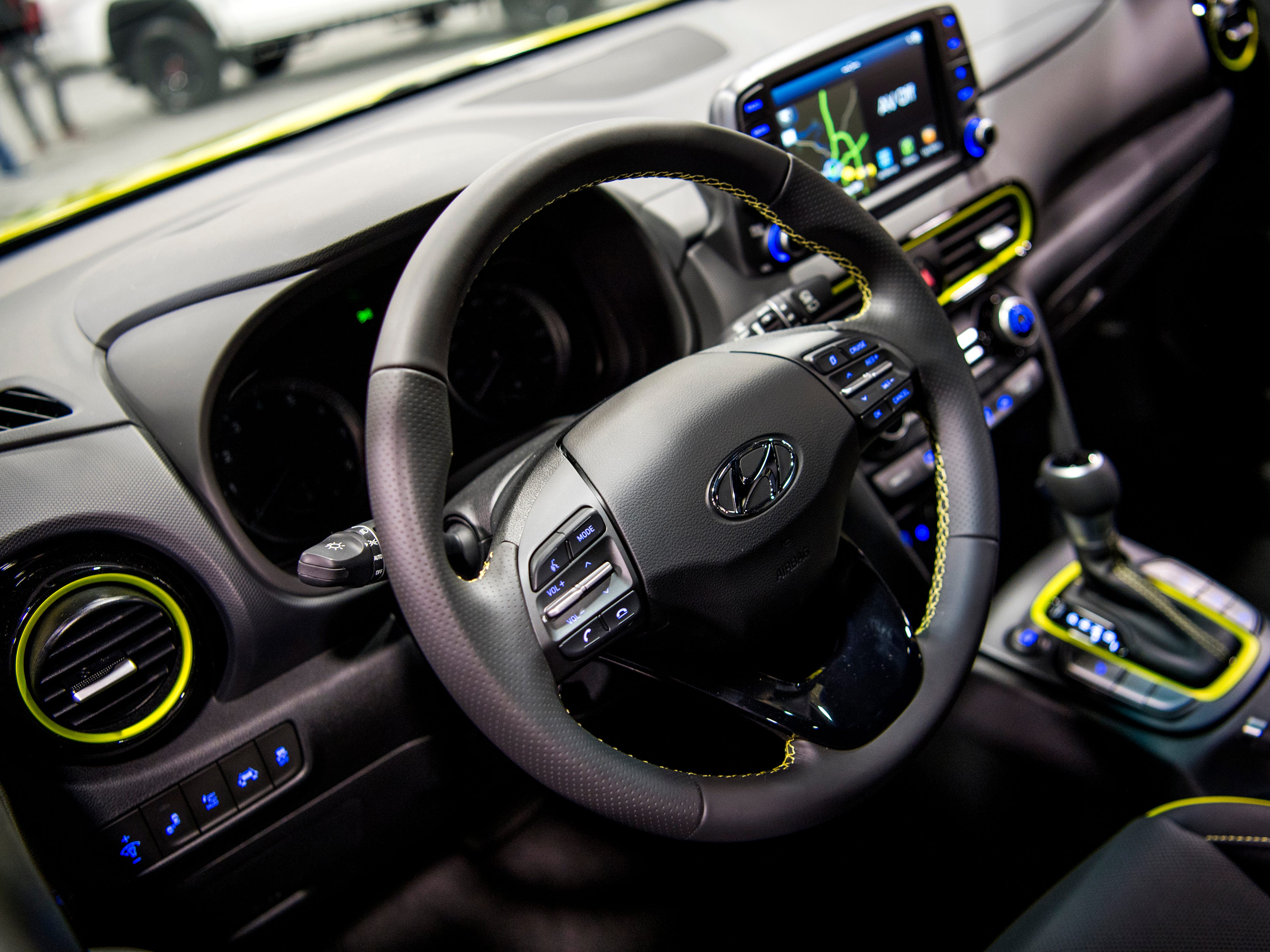 The Hyundai Kona at the Knox News Auto Show held at the Knoxville Convention Center on Friday, February 22, 2019.