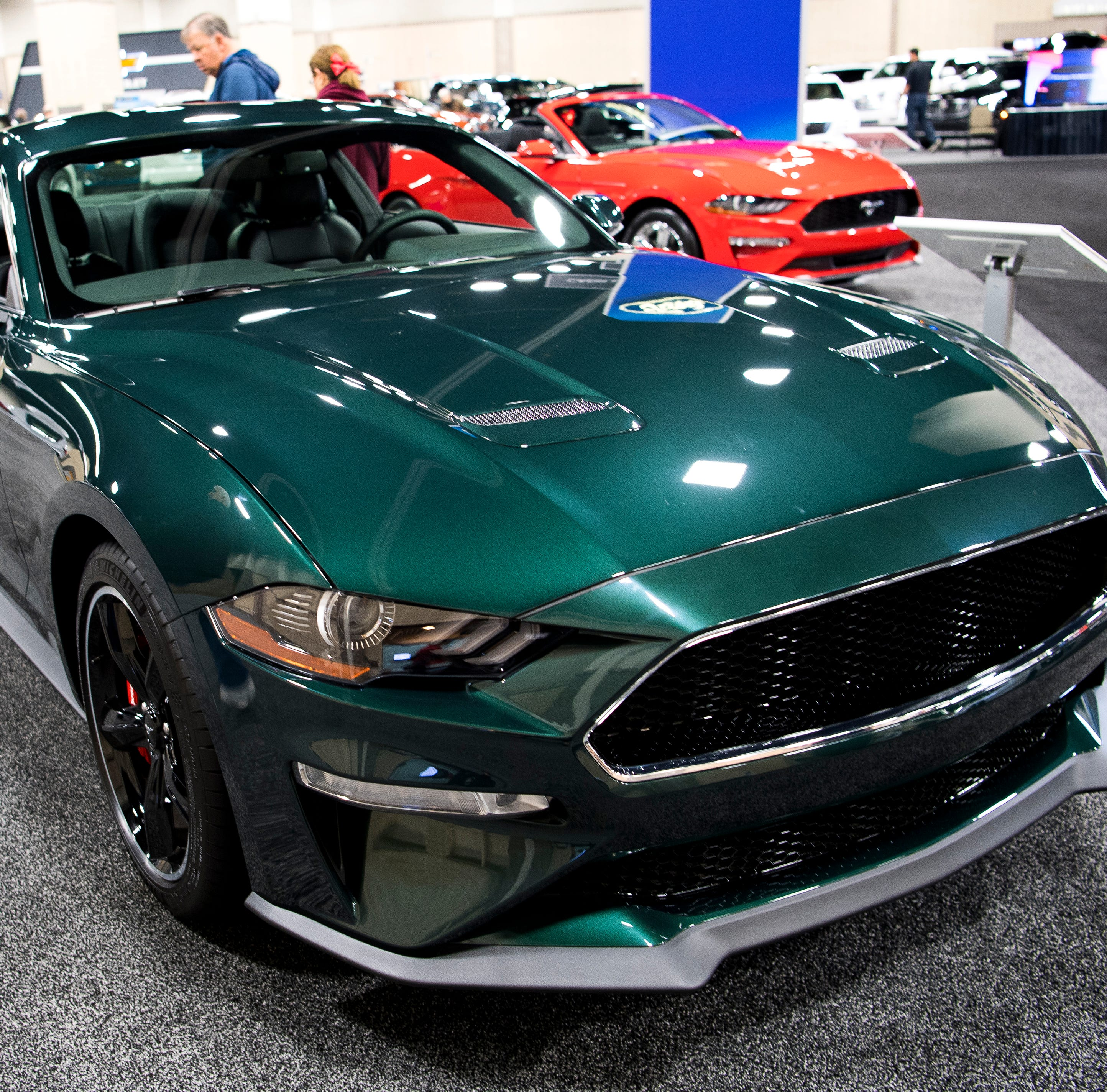 Check out Tesla, a famous Mustang and more at the Knox News Auto Show