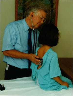 Dr. Bob Hannemann moved to Lafayette in 1962 to help develop the pediatric unit of Arnett Clinic.