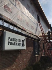 Parkside Pharmacy, located at 2200 Ferry Street, is expanding upwards after increasing business led to the demand for more behind the counter operations, owner Randy Gerhart said.