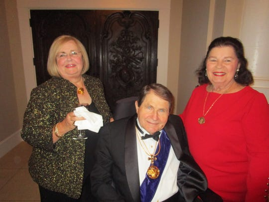 Darrellyn Burts, George Crain and Karen Bernard