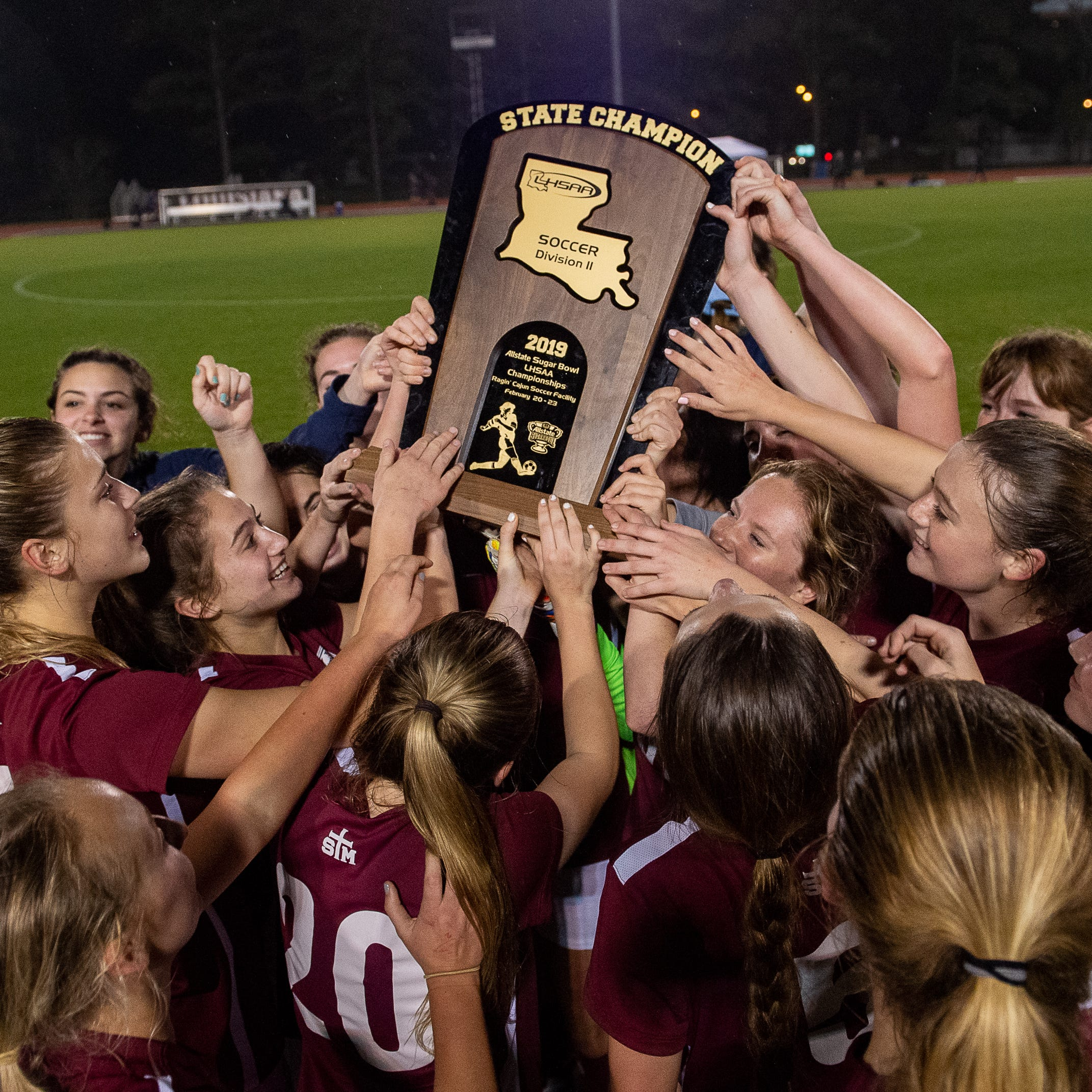 Lady Cougars win back-to-back state titles