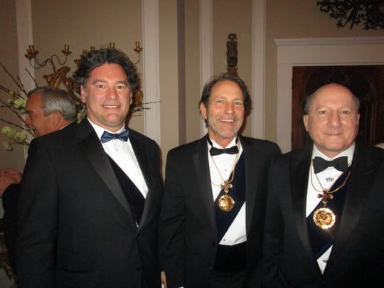 Bart Bernard, Stanley Blackstone and Peter John