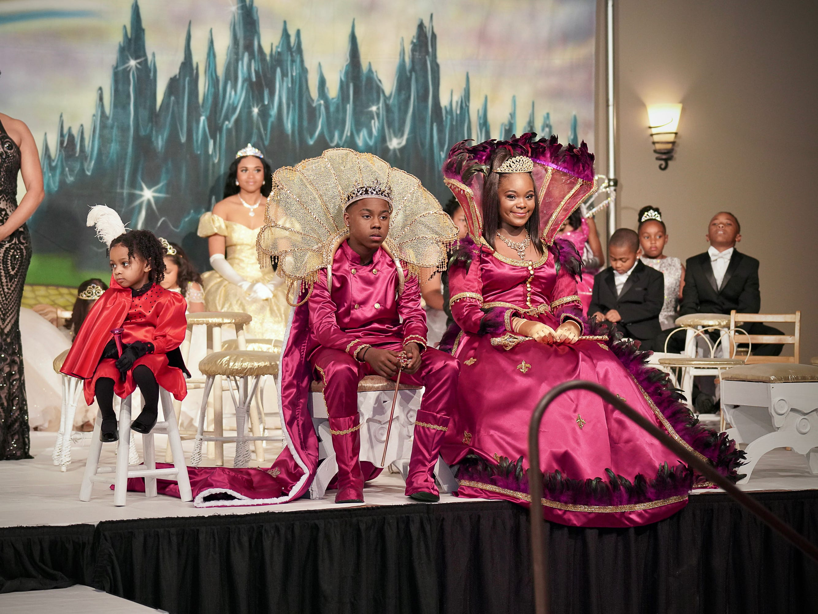 The Lafayette Mardi Gras Festival Inc. holds annual Mardi Gras Ball. Feb 16, 2019