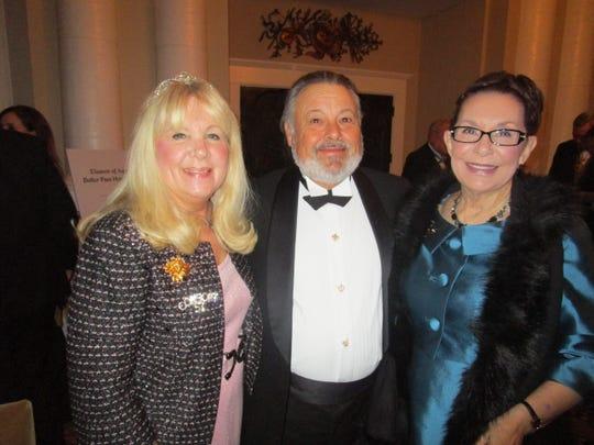 Karen Harwood, Mike and Lynn Crochet