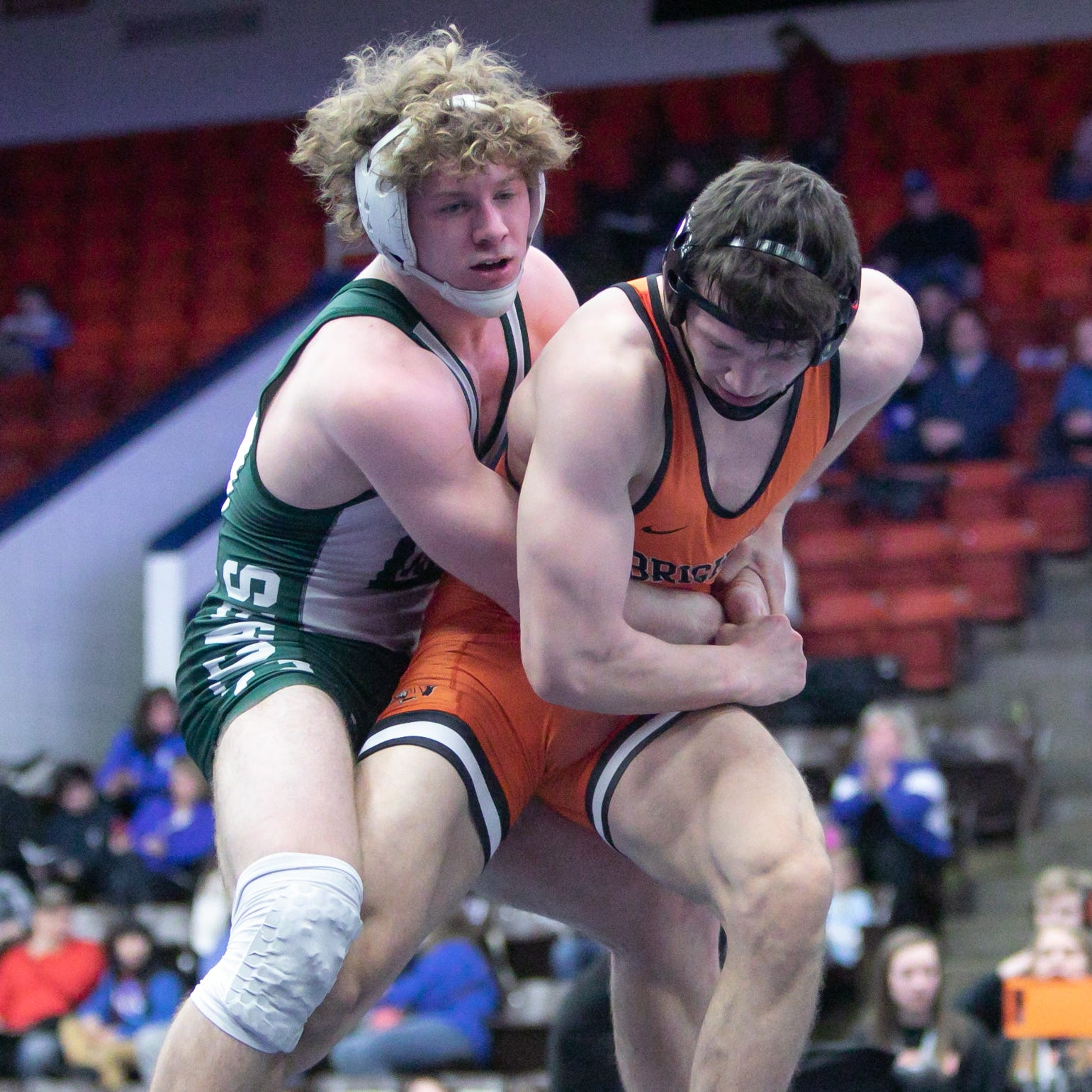 Brighton earns rematch with Davison in state wrestling semifinals