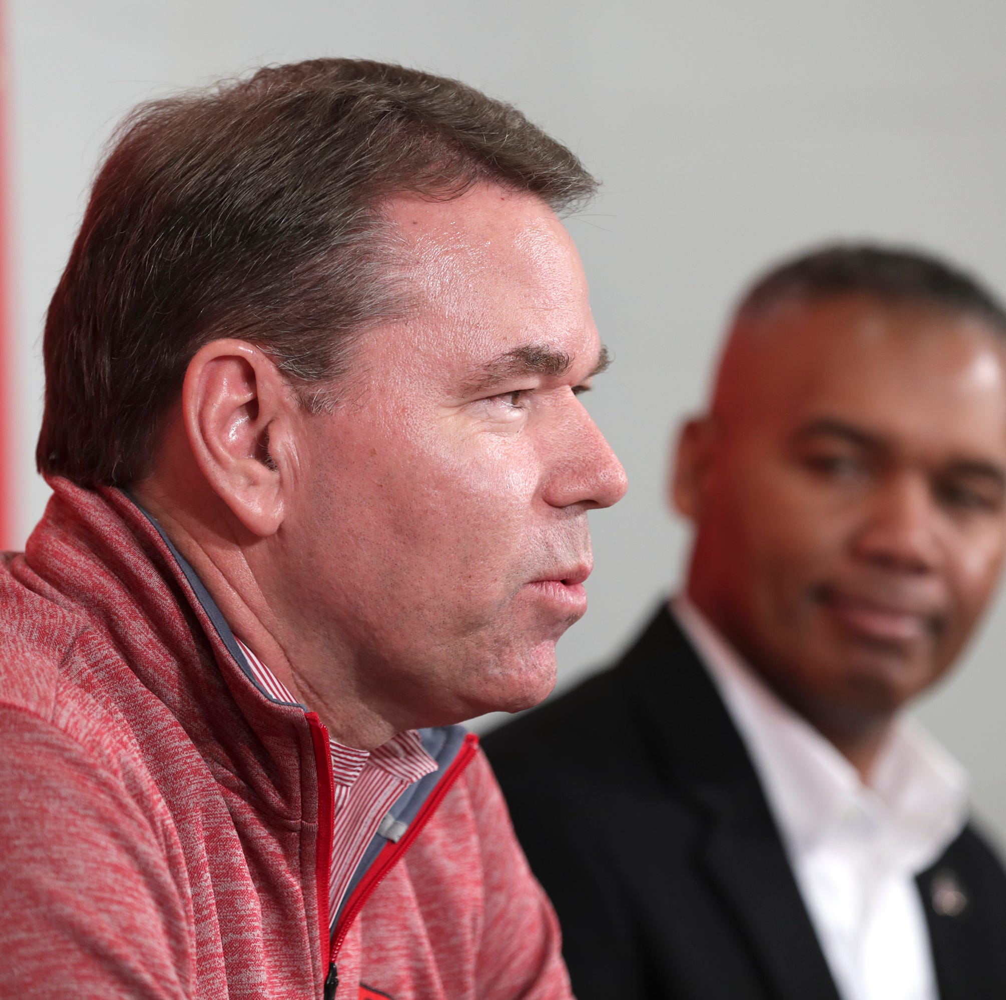 Louisville athletic director Vince Tyra is working U of L out of a funding jam