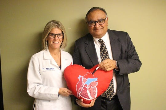 For more than 25 years, Dr. Divyakant Gandhi has made his mark on patient care by taking the time to draw out exactly what he did during every patient's surgery on a heart-shaped pillow.