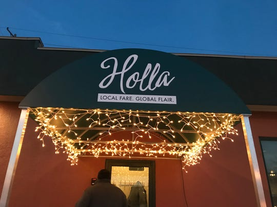 Holla, 603 York St., Manitowoc, opened in December 2018 and features a frequently changing menu with farm-to-table practices.