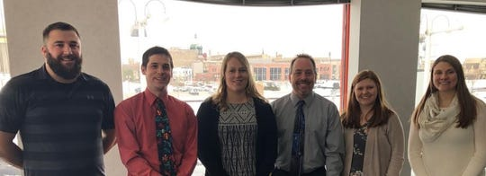 Two Rivers Public School District science teachers involved in the B-WET (Bay Watershed Education and Training) are, from left: Tony Simpson, Nathan Ehle, Laura Reeves, Brian Henrickson, Laura DeBouche and Megan Ourada.