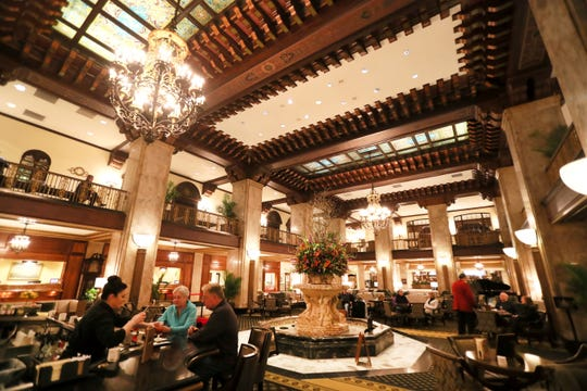 The Peabody Hotel in downtown Memphis on Thursday, Feb. 21, 2019.