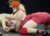"""""""I'm at the Kohl Center, I'm about to win this match,"""" the Warhawks sophomore told a trainer after momentarily losing his breath in a match."""