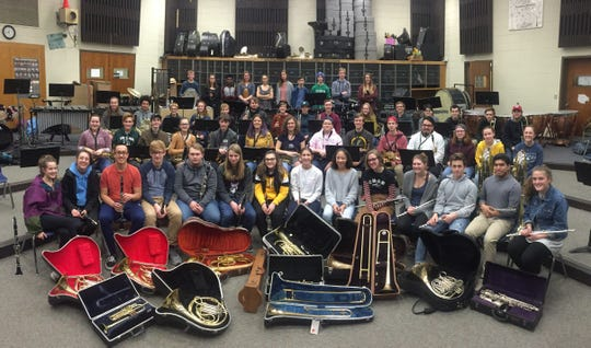 Tosa West band students have collected dozens of instruments and 150 uniforms for band students in areas of Puerto Rico affected by Hurricane Maria and are raising money to ship them there.