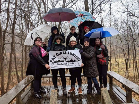 A Fat Girls Hiking chapter was established in Milwaukee in fall 2018.