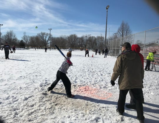 Winter softball, snow sculpting, ice-boating and other frozen recreation were part of Fond du Lac's Sturgeon Spectacular, where a reporter interviewed Wisconsin voters about next year's presidential election.