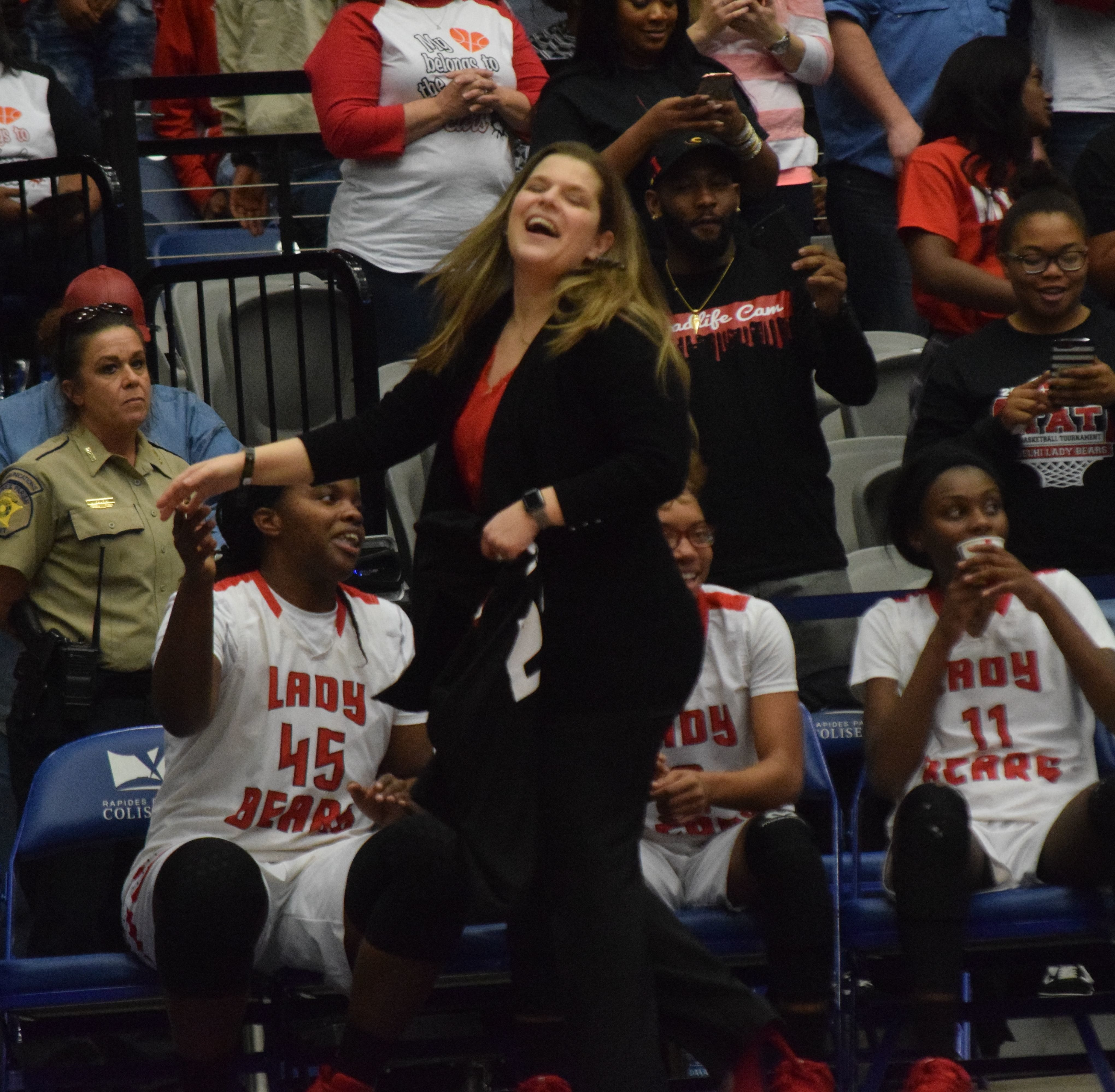 One year ago, Emily Anderson led Delhi to its first state championship in 55 years. The Lady Bears will defend that title at next week's LHSAA state tournament in Alexandria's Rapides Coliseum.