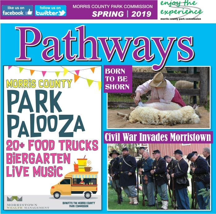 Morris Parks Spring events and activities catalog