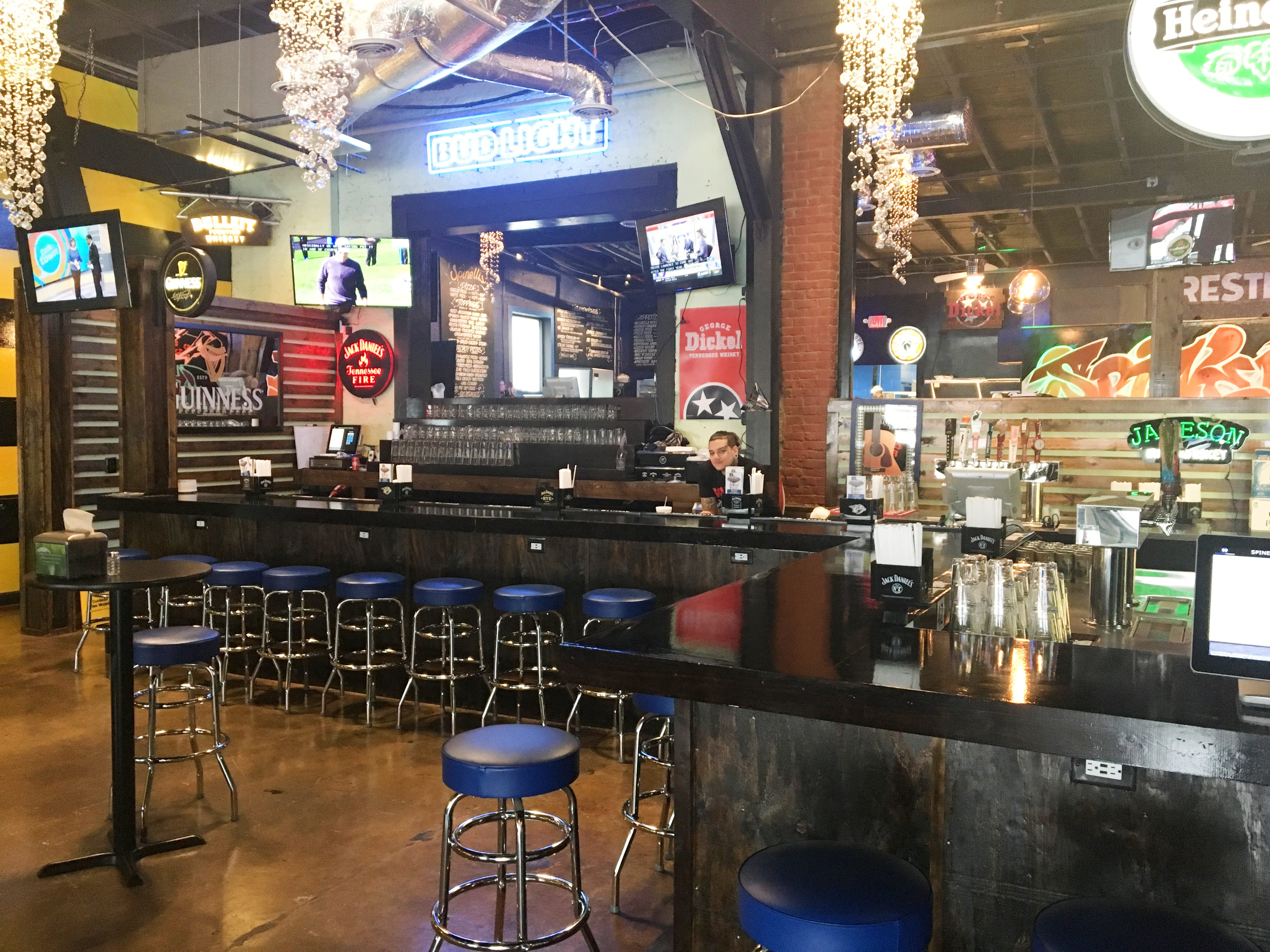 Spinelli's Pizzeria and Nick Newton's Restaurant and Bar opened in January at 211 W. Main St. in Murfreesboro. The two-in-one dining spot combines both concepts into one space.