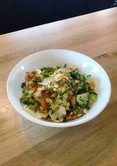 Mom's Wok dish at Mop/Broom
