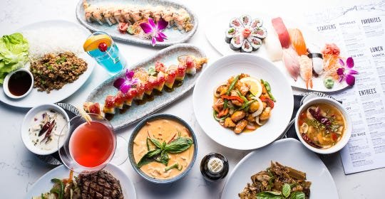 Sushi and Thai at the Eastern Peak
