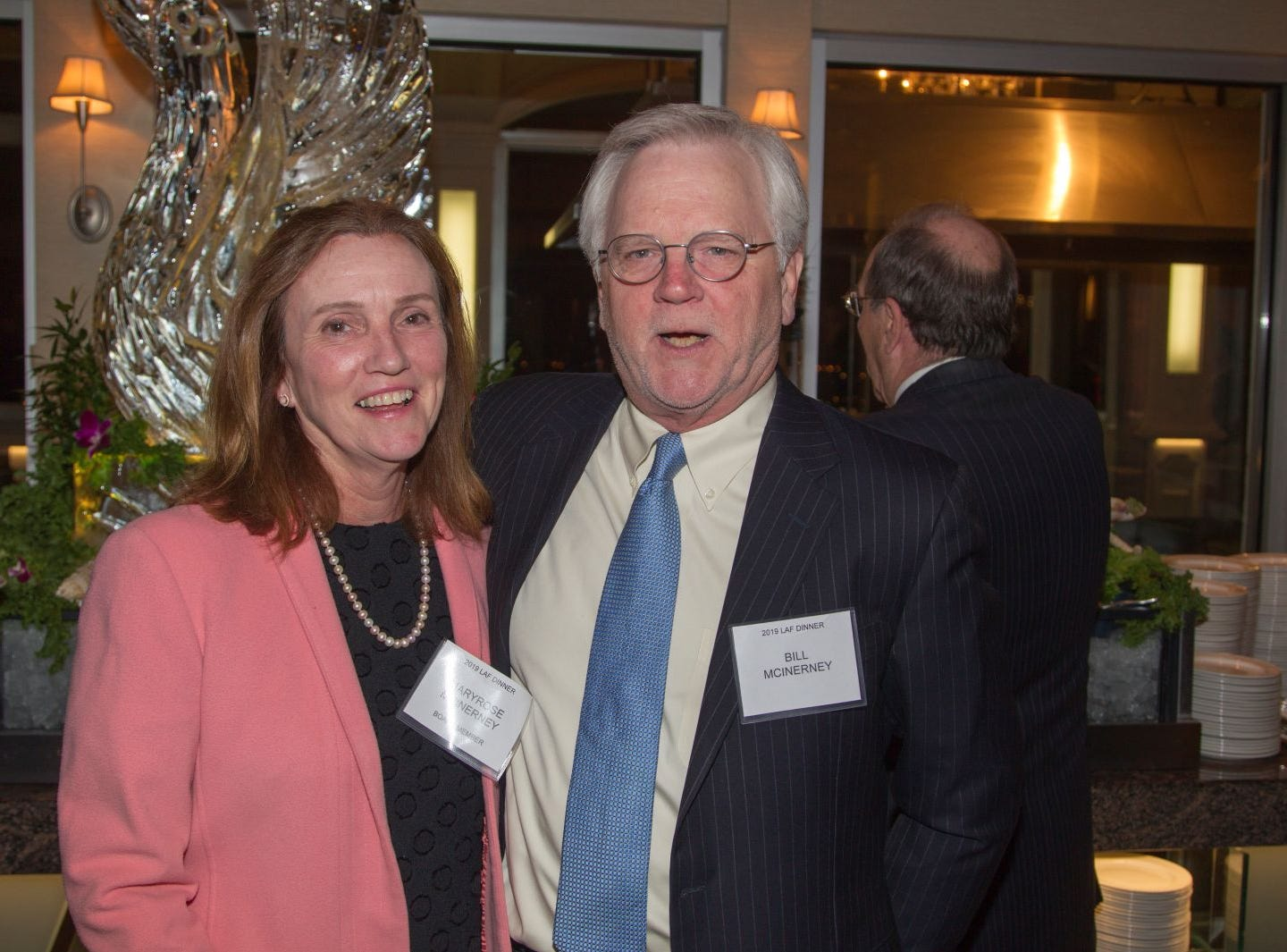 Maryrose McInerney, Bill McInerney. Eva's Village hosted its second annual Lawyers, Accountants and Financial Professionals Benefit Dinner at Westmount Country Club in Woodland Park. 02/21/2019