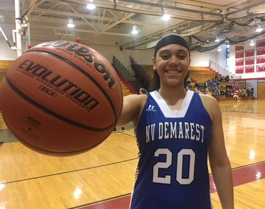 Dayna Tirado helped lead NV/Demarest to the Big North Patriot crown.